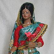 Куклы и игрушки handmade. Livemaster - original item Indian doll:
