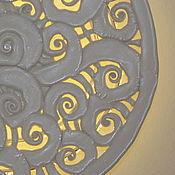 Для дома и интерьера ручной работы. Ярмарка Мастеров - ручная работа Светильник-блюдо. Handmade.