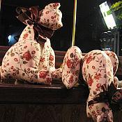 Куклы и игрушки ручной работы. Ярмарка Мастеров - ручная работа Кошечки Настроение осень. Handmade.