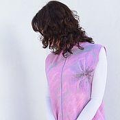 Одежда handmade. Livemaster - original item Vest milled