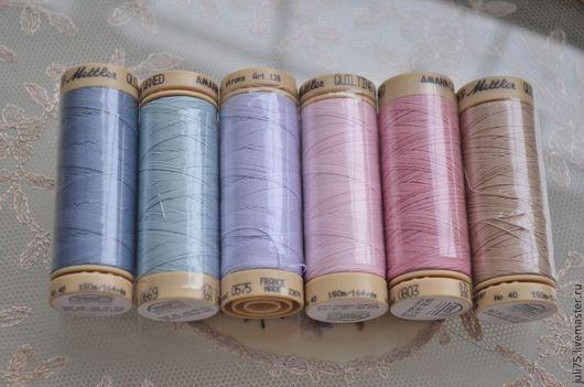 Вышивка ручной работы. Ярмарка Мастеров - ручная работа. Купить Нитки вощеные для ручного шитья, люневильской вышивки и квилтинга. Handmade.