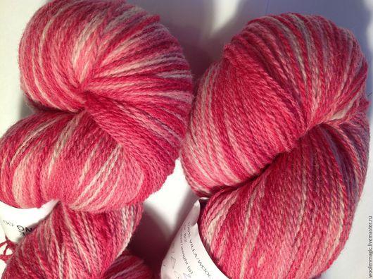 Вязание ручной работы. Ярмарка Мастеров - ручная работа. Купить КАУНИ  Pink 8/1- 8/2. Handmade. Розовый, шерсть 100%