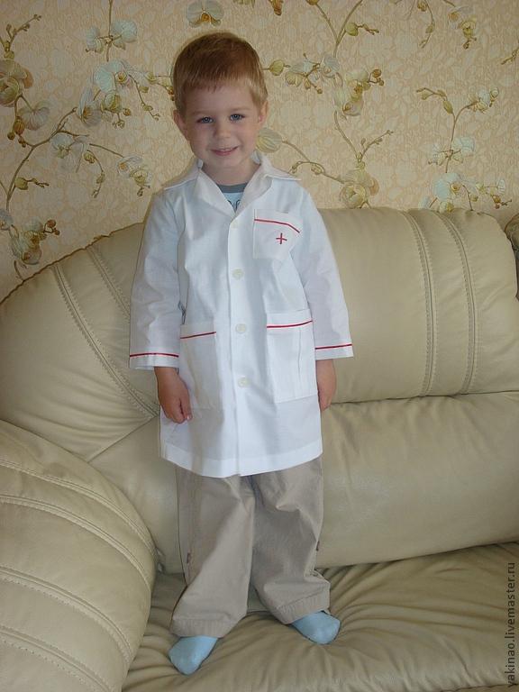 Как сшить медицинский халат своими руками на ребенка 55