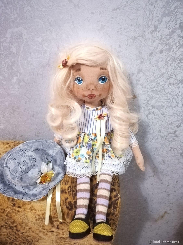 Кукла Кудряшка, Чердачная кукла, Рязань,  Фото №1