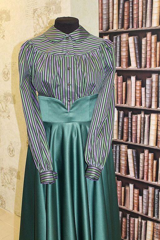 Блузки ручной работы. Ярмарка Мастеров - ручная работа. Купить Женская блузка в стиле ретро. Handmade. Женская блузка