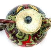 """Посуда ручной работы. Ярмарка Мастеров - ручная работа Чайник """" Семена лотоса"""". Handmade."""