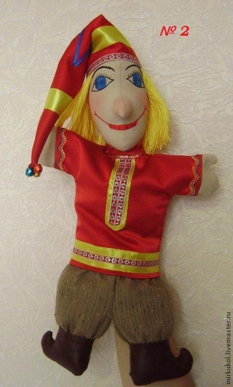 Вальдорфская игрушка ручной работы. Ярмарка Мастеров - ручная работа.  Купить Петрушка - перчаточная кукла ... 53b5bb2abc5