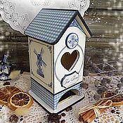 """Для дома и интерьера ручной работы. Ярмарка Мастеров - ручная работа """"Голландия"""" чайный домик. Handmade."""