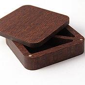 handmade. Livemaster - original item Wooden jewelry box. Handmade.