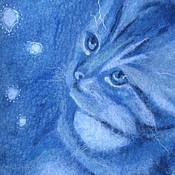 """Сумки и аксессуары ручной работы. Ярмарка Мастеров - ручная работа Сумка """"Любознательный котенок"""". Handmade."""