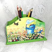 Канцелярские товары handmade. Livemaster - original item Pencil Cotoletta. Handmade.