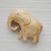 Для дома и интерьера ручной работы. Ярмарка Мастеров - ручная работа Слон резной. Handmade.