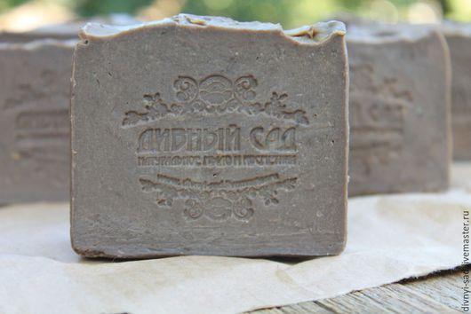 Мыло ручной работы. Ярмарка Мастеров - ручная работа. Купить Натуральное кастильское мыло для проблемной кожи с дегтем. Handmade. Коричневый