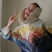 Одежда ручной работы. Ярмарка Мастеров - ручная работа Свитер «Австралия». Handmade.