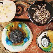 Украшения ручной работы. Ярмарка Мастеров - ручная работа медальоны. Handmade.