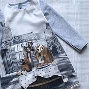 Работы для детей, ручной работы. Ярмарка Мастеров - ручная работа Платье для девочки Леди. Handmade.