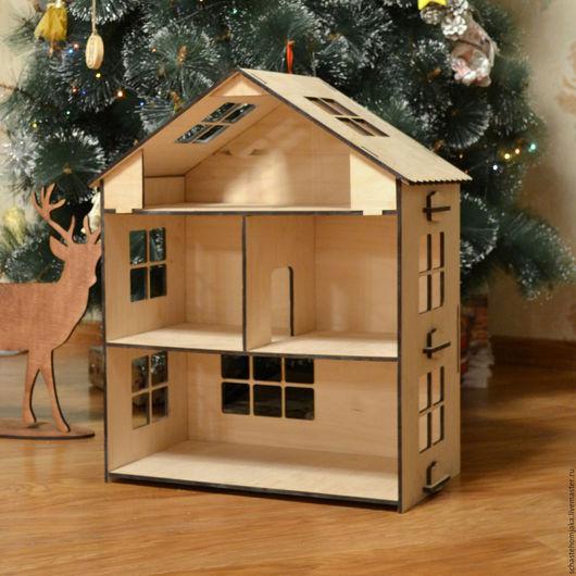 Кукольный дом ручной работы. Ярмарка Мастеров - ручная работа. Купить Кукольный домик. Деревянный. Handmade. Домик, дом для куклы