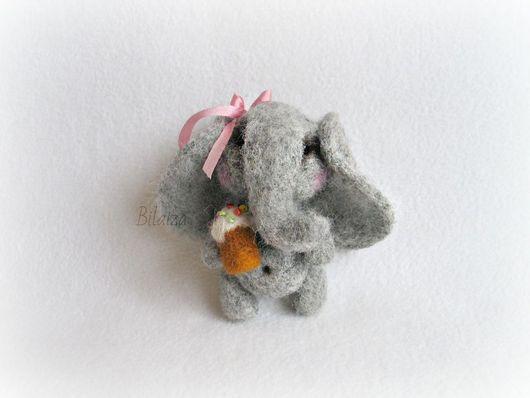 Игрушки животные, ручной работы. Ярмарка Мастеров - ручная работа. Купить Пасхальный слоник. Handmade. Пасха, слоненок
