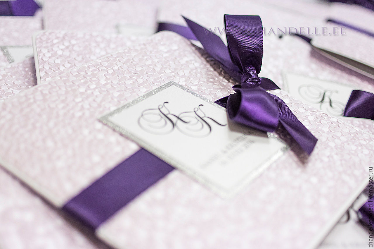 Приглашения на свадьбу ручной работы в Москве и Санкт 620