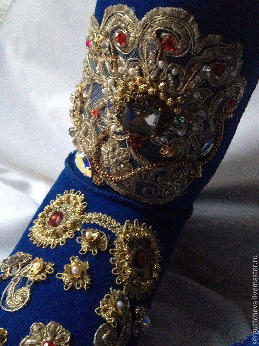 """Обувь ручной работы. Ярмарка Мастеров - ручная работа. Купить Валенки""""Italian Chic""""в стиле DG. Handmade. Валенки, обувь зимняя"""