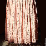 Одежда ручной работы. Ярмарка Мастеров - ручная работа Юбочка плиссированная кружевная. Handmade.