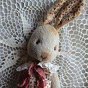 Куклы и игрушки handmade. Livemaster - original item Bunny Teddy Button. Handmade.