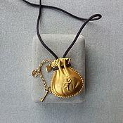 Винтаж handmade. Livemaster - original item Vintage jewelry Pendant with CHARNAME, USA. Handmade.