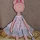 Куклы тыквоголовки ручной работы. Ярмарка Мастеров - ручная работа. Купить Тыквоголовка,,Китти,,. Handmade. Hello Kitty, подарок девочке