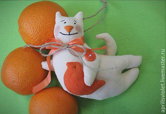 Куклы Тильды ручной работы. Ярмарка Мастеров - ручная работа. Купить Летящие котики Тильда. Handmade. Комбинированный, интерьерная игрушка