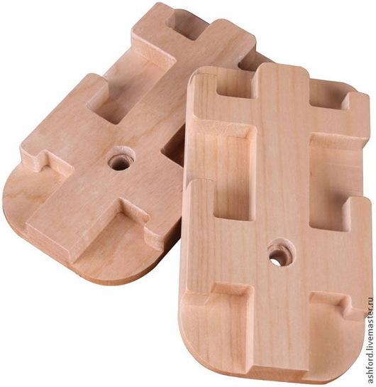 Другие виды рукоделия ручной работы. Ярмарка Мастеров - ручная работа. Купить Приспособление для установки двух бердо. Handmade. Золотой