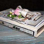 Свадебный салон ручной работы. Ярмарка Мастеров - ручная работа Открытка-коробочка на свадьбу, денежный конверт. Handmade.