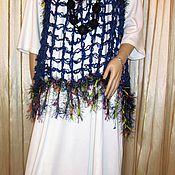 Одежда ручной работы. Ярмарка Мастеров - ручная работа Туника  вязаная паутинка. Handmade.
