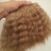 Материалы для творчества ручной работы. Ярмарка Мастеров - ручная работа Кукольные волосы (мохер). Handmade.