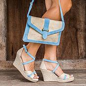Обувь ручной работы handmade. Livemaster - original item Shoes genuine suede Visky. Handmade.