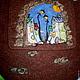 """Женские сумки ручной работы. Ярмарка Мастеров - ручная работа. Купить сумка """"Город"""". Handmade. Город, рисунок, ночь, фанарь"""