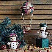 Подарки к праздникам ручной работы. Ярмарка Мастеров - ручная работа Набор елочных игрушек - Вокруг света за 365 дней... Handmade.