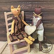 Куклы и игрушки ручной работы. Ярмарка Мастеров - ручная работа Котики Тильда. Handmade.