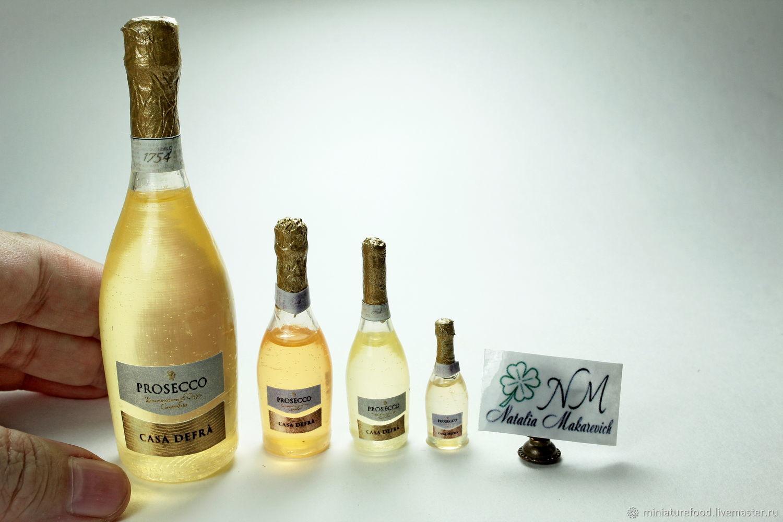 """Шампанское """"Prosecco Casa Defra"""", Кукольная еда, Щелково,  Фото №1"""