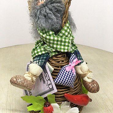 Сувениры и подарки ручной работы. Ярмарка Мастеров - ручная работа Колокольчики: Домовой на колокольчике. Handmade.