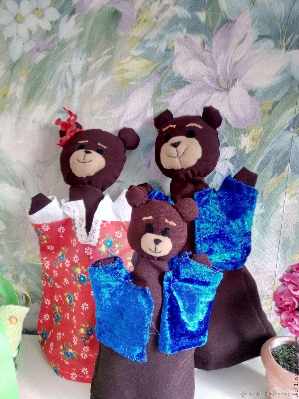 Перчаточные куклы Маша и три Медведя, Кукольный театр, Мытищи,  Фото №1