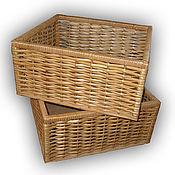 Короб ручной работы. Ярмарка Мастеров - ручная работа Плетеный короб для хранения. Handmade.