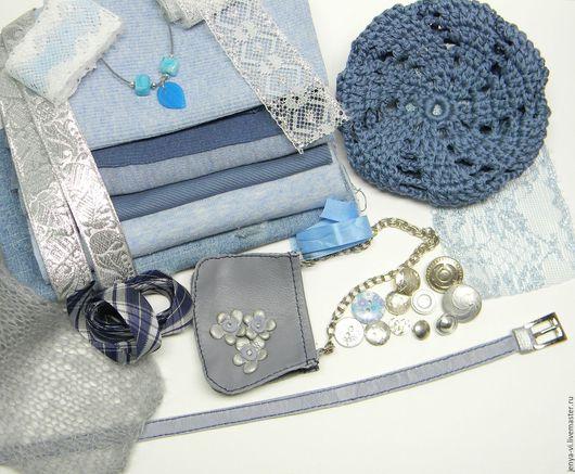 Набор для шитья одежды  кукле, мишке