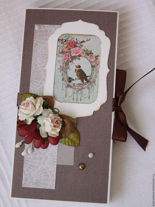Открытки для женщин, ручной работы. Ярмарка Мастеров - ручная работа. Купить Шоколадница. Handmade. Комбинированный, подарок на 8 марта