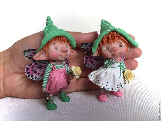 Коллекционные куклы ручной работы. Ярмарка Мастеров - ручная работа. Купить Томас и Маргарет. Handmade. Комбинированный, сказочные персонажи