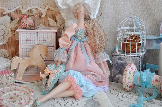 """Куклы Тильды ручной работы. Ярмарка Мастеров - ручная работа. Купить Кукла в стиле Тильда """"Летний день"""". Handmade. Кремовый"""