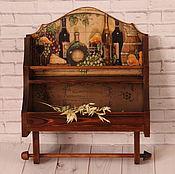 Для дома и интерьера handmade. Livemaster - original item Shelf for spices and towels. Handmade.