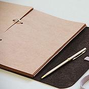 Материалы для творчества handmade. Livemaster - original item Refill of Kraft A5. Handmade.