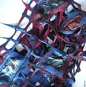 Аксессуары ручной работы. Ярмарка Мастеров - ручная работа шарф сетка. Handmade.