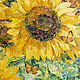 oil painting 'Sunflowers'. Pictures. Pictures for the soul (RozaSavinova). Online shopping on My Livemaster.  Фото №2