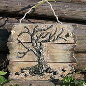 """Картины и панно ручной работы. Ярмарка Мастеров - ручная работа Интерьерное панно """"Дерево"""". Handmade."""